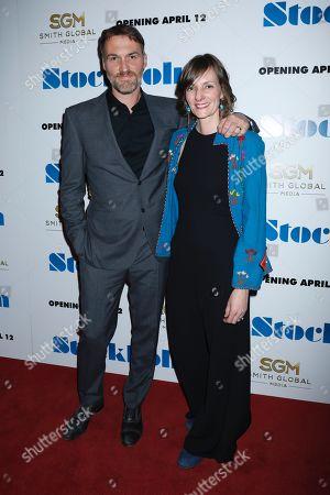 Robert Budreau, writer/director and wife Rebecca Budreau