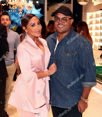 Adrienne Houghton and Israel Houghton