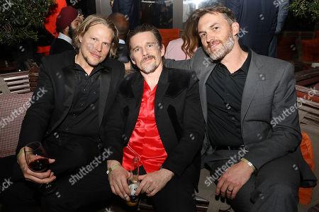 Ian Matthews, Ethan Hawke and Robert Budreau (Writer, Director)