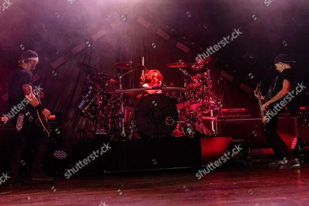 Godsmack - Sully Erna, Shannon Larkin and Tony Rombola
