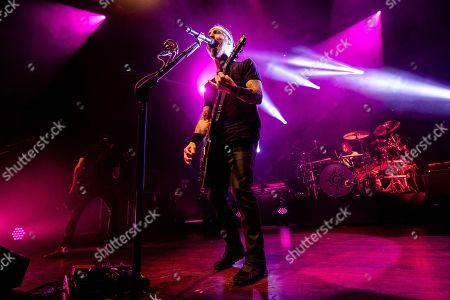 Godsmack - Robbie Merrill, Sully Erna and Shannon Larkin