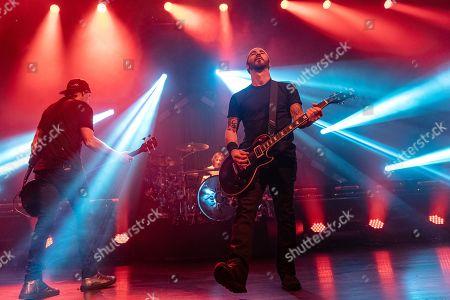 Godsmack - Robbie Merrill, Shannon Larkin and Sully Erna