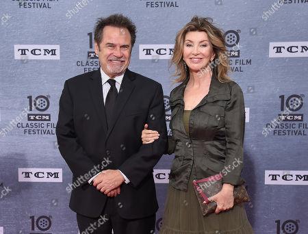 Dennis Miller and wife Carolyn Espley