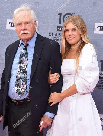 Ted Turner and granddaughter Laura Elizabeth Seydel