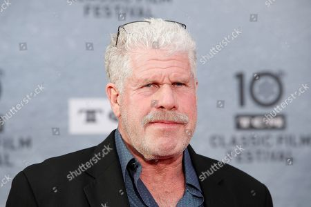 Ron Perlman arrives for the 30th Anniversary Screening of 'When Harry Met Sally' presented as the Opening Night Gala of the 2019 TCM Classic Film Festival at the TCL Chinese Theatre IMAX in Hollywood, Los Angeles, California, USA, 11 April 2019.