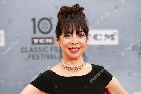Illeana Douglas arriving at the 30th Anniversary Screening of 'When Harry Met Sally' presented as the Opening Night Gala of the 2019 TCM Classic Film Festival at the TCL Chinese Theatre IMAX in Hollywood, Los Angeles, California, USA, 11 April 2019.