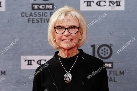 Stock Photo of Patty McCormack arrives for the 30th Anniversary Screening of 'When Harry Met Sally' presented as the Opening Night Gala of the 2019 TCM Classic Film Festival at the TCL Chinese Theatre IMAX in Hollywood, Los Angeles, California, USA, 11 April 2019.