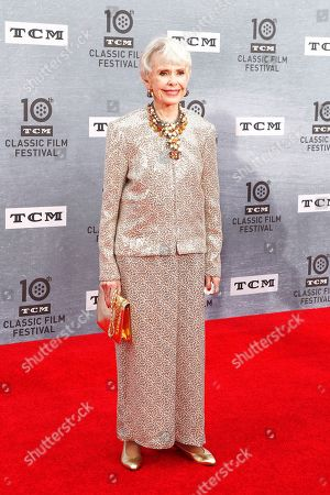 Barbara Rush arrives for the 30th Anniversary Screening of 'When Harry Met Sally' presented as the Opening Night Gala of the 2019 TCM Classic Film Festival at the TCL Chinese Theatre IMAX in Hollywood, Los Angeles, California, USA, 11 April 2019.
