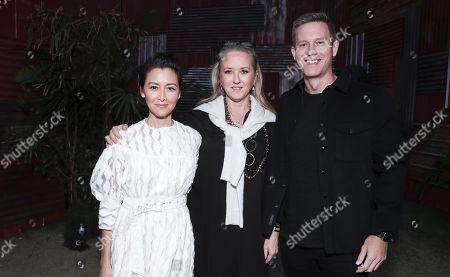 Carmen Cuba, Jennifer Salke and Matt Newman