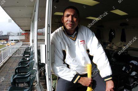 Editorial photo of Phil Defreitas - Cricketer
