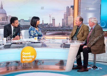 Editorial image of 'Good Morning Britain' TV show, London, UK - 12 Apr 2019