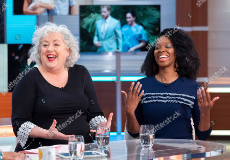 Anna May Mangan and Jamelia
