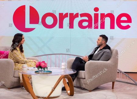 Stock Picture of Christine Lampard and Antony Costa