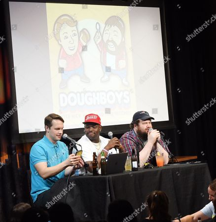 Doughboys: Nick Wiger & Mike Mitchell with special guest Carl Tart (Center)