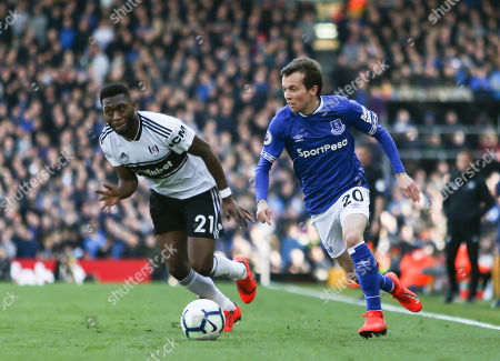 Editorial image of Fulham v Everton, Premier League, Football, Craven Cottage, London, UK - 13 Apr 2019