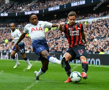 Editorial photo of Tottenham Hotspur v Huddersfield Town, Premier League, Football, The Tottenham Hotspur Stadium, Tottenham, London, UK - 13 Apr 2019