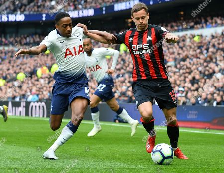 Editorial picture of Tottenham Hotspur v Huddersfield Town, Premier League, Football, The Tottenham Hotspur Stadium, Tottenham, London, UK - 13 Apr 2019