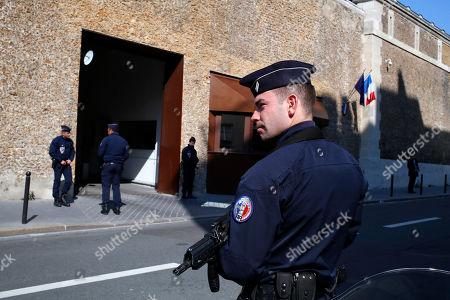 Editorial picture of La Sante Prison, Paris, France - 12 Apr 2019