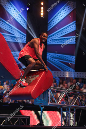 Editorial picture of 'Ninja Warrior UK' TV Show, Series 5, Episode 3, UK - 27 Apr 2019