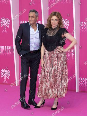 Jean-Michel Tinivelli and Marine Delterme