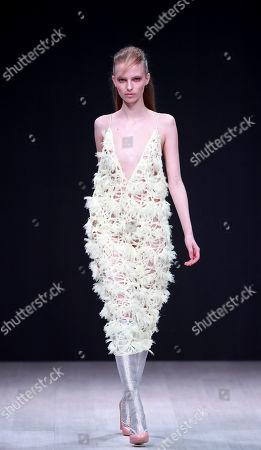 Editorial picture of Alberto Zambelli, runway, Belarus Fashion Week, Minsk - 12 Apr 2019