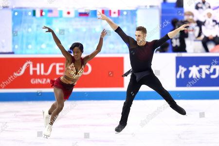 Editorial image of World Team Trophy Figure Skating, Fukuoka, Japan - 12 Apr 2019