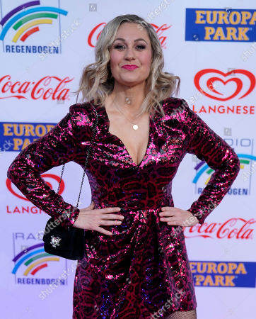 German actress Ruth Moschner attends the Radio Regenbogen Award ceremony in Rust near Freiburg, Germany, 12 April 2019. The Radio Regenbogen Award is one of the most important media awards of the German radio scene.