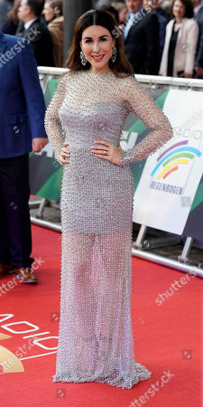 German actress Judith Williams attends the Radio Regenbogen Award ceremony in Rust near Freiburg, Germany, 12 April 2019. The Radio Regenbogen Award is one of the most important media awards of the German radio scene.