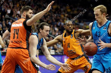 Editorial photo of Eurocup final: Alba Berlin and Valencia Basket, Berl?, Spain - 12 Apr 2019
