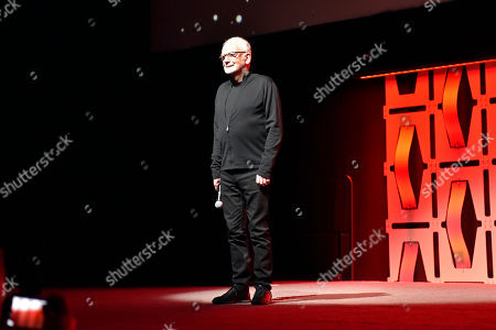 "Ian McDiarmid participates during the ""Star Wars: The Rise Of Skywalker"" panel on day 1 of the Star Wars Celebration at Wintrust Arena, in Chicago"