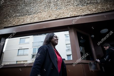 Stock Photo of Laetitia Avia visits La Sante prison, re-opened after four-year rennovation.