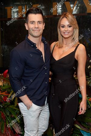 Stock Photo of Oliver Mellor and Rhian Sugden
