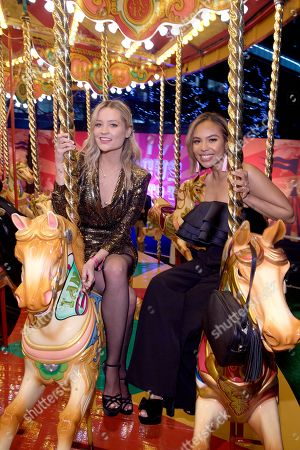 Stock Image of Laura Whitmore and Alexandra Maurer