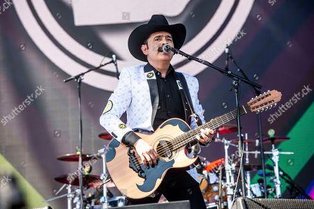 Stock Photo of Mario Quintero Lara of Los Tucanes de Tijuana performs the Coachella Music & Arts Festival at the Empire Polo Club, in Indio, Calif