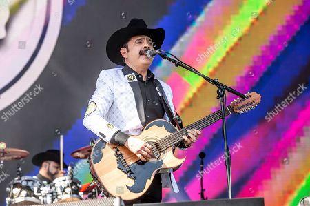 Stock Picture of Mario Quintero Lara of Los Tucanes de Tijuana performs the Coachella Music & Arts Festival at the Empire Polo Club, in Indio, Calif