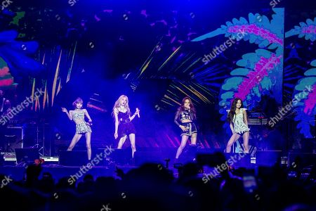 Lisa, Rose, Jisoo, Jennie Kim. Lisa, from left, Rose, Jisoo, and Jennie Kim of BLACKPINK perform at the Coachella Music & Arts Festival at the Empire Polo Club, in Indio, Calif