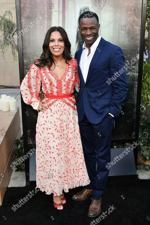 Stock Picture of Aonika Laurent and Sean Patrick Thomas