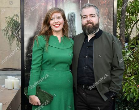 Stock Image of David Sandberg and Lotta Losten