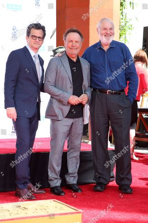 Stock Picture of Ben Mankiewicz, Billy Crystal, Rob Reiner