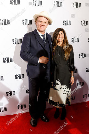 Stock Picture of John C Reilly and Alison Dickey