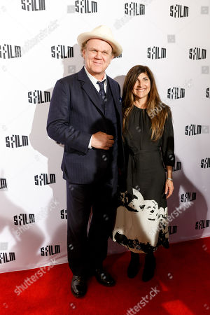 Stock Photo of John C Reilly and Alison Dickey