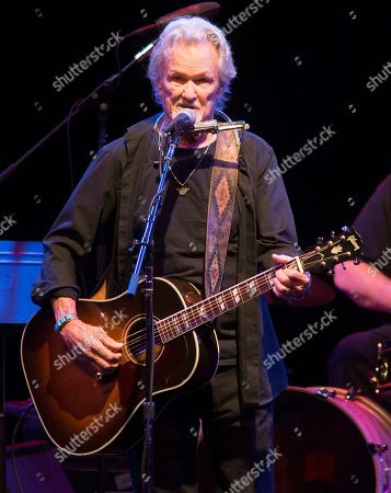 Kris Kristofferson performs in concert at The American Music Theatre, in Lancaster, Pa