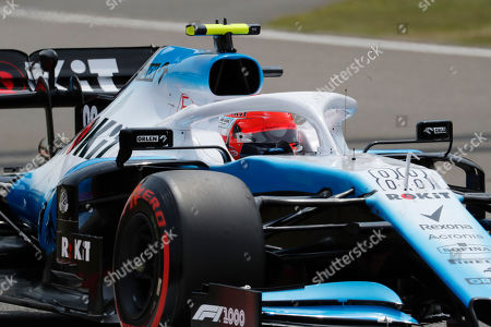 Polish Formula One driver Robert Kubica of Williams competes during the third practice session of the Chinese Formula One Grand Prix at the Shanghai International circuit in Shanghai, China, 13 April 2019. The 2019 Chinese Formula One Grand Prix will take place on 14 April.