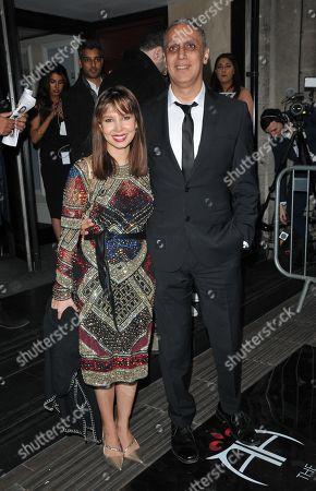 Elle Flynn and Nitin Sawhney