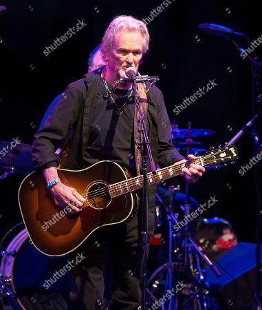 Editorial photo of Kris Kristofferson in concert at The American Music Theatre, Lancaster Pennsylvania, America - 12 Apr 2019