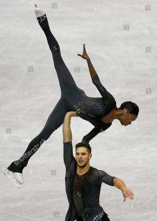 Editorial picture of World Team Trophy Figure Skating, Fukuoka, Japan - 13 Apr 2019