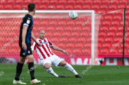 Charlie Adam (16) of Stoke City during the game