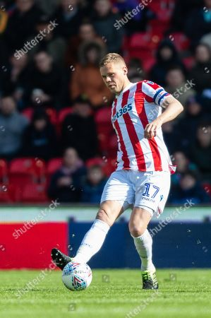 Ryan Shawcross (17) of Stoke City during the game