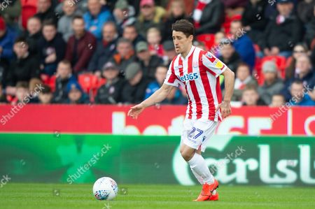 Bojan Krkic (27) of Stoke City during the game