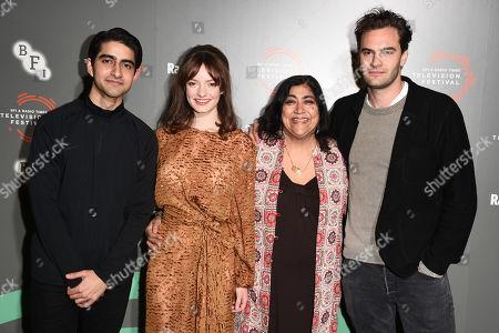 Viveik Kalra, Dakota Blue Richards, Gurinder Chadha and Tom Bateman